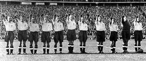 nazi england team